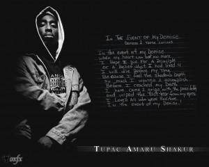 Tupac Shakur 2Pac