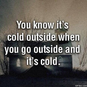 Its Cold Quotes Pictures