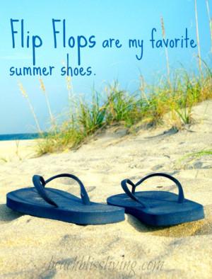Summer Flip Flop Quotes Flip flops quote