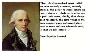 Jean baptiste lamarck famous quotes 2