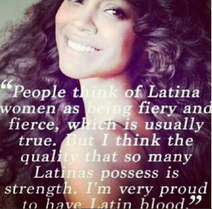 Proud to be Latina