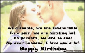 Birthday wishes quotes for husband from wife