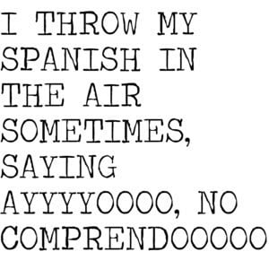 Learning Spanish: what NOT to say
