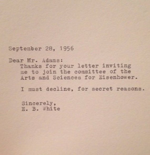 White Quote Typed on Typewriter by farmnflea on Etsy, $9.00