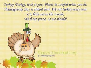 Turkey Turkey : Thanksgiving Poems