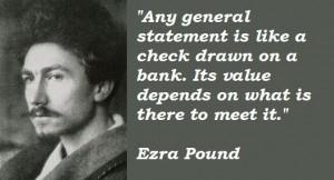 Ezra pound famous quotes 3