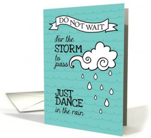 General card: Dance in the Rain - Inspiration for Cancer Patients ...