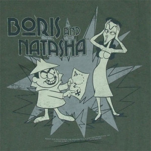 rocky and bullwinkle boris and natasha - Bing Images