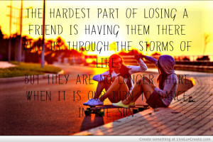 Sad Quotes Losing Friends...