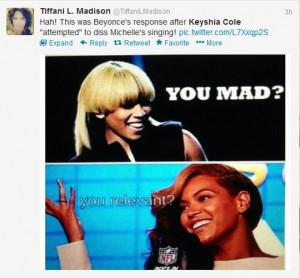 """... FawkN The Groove Up"""" Keyshia Cole Goes In On Michelle Williams"""