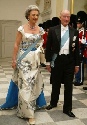 Danish Princess Benedikte, (sister of Queen Margrethe II of Denmark ...