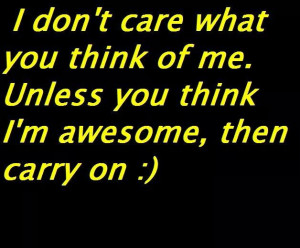 Carry on #awesome