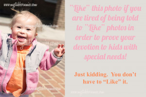 ... with down syndrome october is down syndrome down syndrome quotes