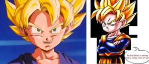 DBZ FUNNY COMIC SERIES - Kid Goku Fake by SSJGOKU10