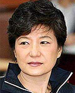 ... presidential candidate park geun hye voiced the need to maintain the