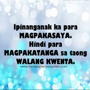 Tagalog Love Quotes and Pinoy Love Quotes