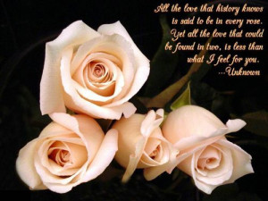 Beautiful Roses Flower Quote Graphic