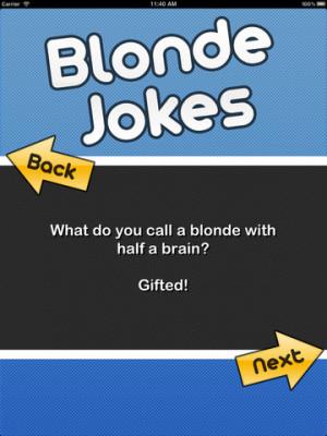 Tags : blonde , redhead , jokes , blonde jokes