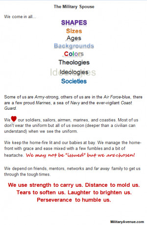 Images for Military Wife Quotes