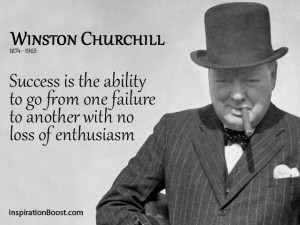 Winston Churchill Enthusiasm Quotes