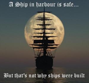 inspirational quotes, sailing your ship
