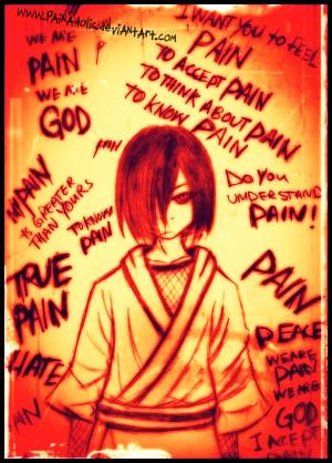 King Of Pain Nagato by Mahadesu