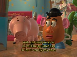 ... op nerdiegirlie tagged mr potato head quote hamm toy story 2 14 notes