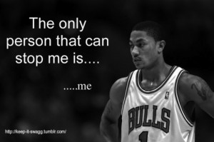 Derrick Rose... sorry league but he's back.