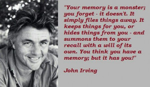 John Irving. My favourite Author