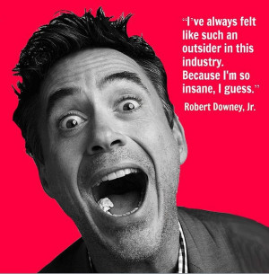 Robert Downey, Jr. - Movie Actor Quote - Film Actor Quote # ...