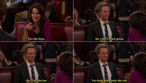 How I Met Your Mother Robin And Barney Quotes How i met your mother ...