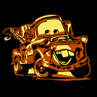 Tow Mater MOCK 85798 std Minion Pumpkin Stencil