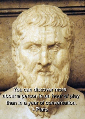 Plato quotes and sayings wise meaningful people play