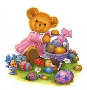 Cute Easter Bear