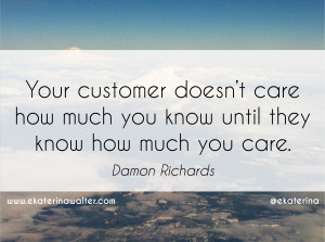 important stakeholder is not our stockholders, it is our customers ...