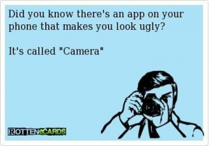 Ugly just doesn't explain how you look.