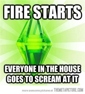Funny photos funny sims logic meme