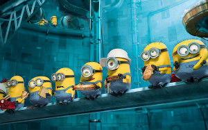 Minions Paradise Despicable Me 2 HD Wallpaper #5209