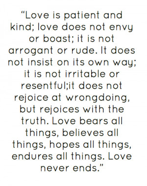 55761404 love is patient and kind love does not envy or png