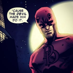 great quote from #Daredevil.