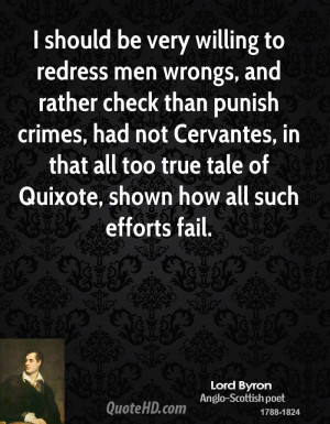 should be very willing to redress men wrongs, and rather check than ...