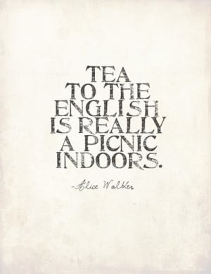 ... quote. Great addition to any English (or wanna be English) kitchen