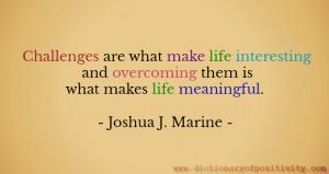 Image: Motivational quote / Joshua J Marine