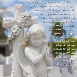 Psalms quote for Remembering every child matters