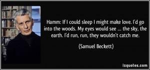 More Samuel Beckett Quotes
