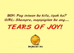 Related Quotes and Sayings about Pambasag Banat and Jokes