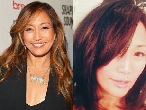 Carrie Ann Inaba Hair