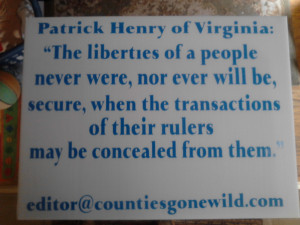 Patrick Henry Quotes On Freedom Quote from patrick henry,