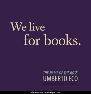 Quotes by umberto eco
