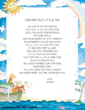 precious little one this 8 1 2 x 11 poem is for the precious little ...